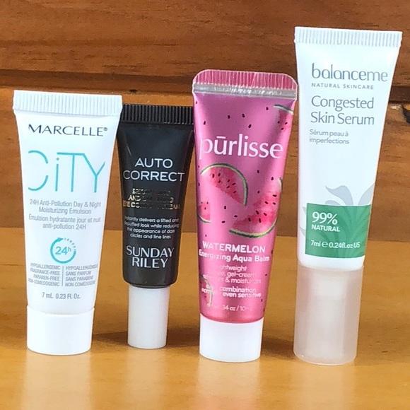 pūrlisse Other - Beauty Bundle 🌺 4 Piece Skincare Sample Set NEW